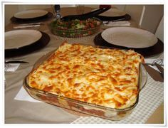 Mince lasagne recipe - World Cuisine Lasagne Recipes, Recipe 30, Recipe Source, Food Pictures, Lasagna, New Recipes, Macaroni And Cheese, Food And Drink, Yummy Food