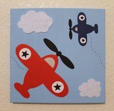 Airplanes Nursery Baby Children's Room Decor Wall Art  Baby Shower Gift, Newborn Present  www.diannasdiapercakes.com