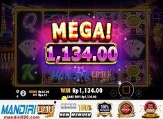 Nikmati sensasi Las Vegas di slot online Vegas Nights. Untuk mendapatkan fitur EKSTRA WILDSdengan tiga kali Respin simbol menjadi Wild menggandakan kemenangan dengan pengali maksimal 81x hanya di mandiri888. Slot Online, Neon Signs, Night
