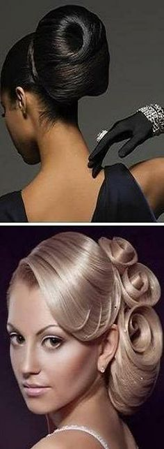 Wedding hair ideas:  Elegant dos