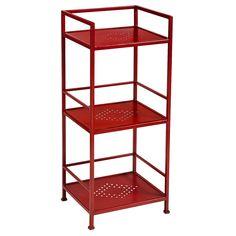Weldon Low Shelf - Red
