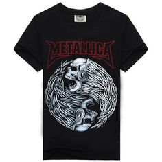 Fair price Rock Music Band T Shirt Men For AC DC Metallica Nirvana Slipknot Iron Maiden Pink Floyd Novelty black Cotton Short sleeves just only $11.98 with free shipping worldwide #tshirtsformen Plese click on picture to see our special price for you
