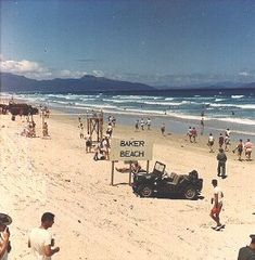 Cam Ranh Bay 1966 | Baker Beach, over the sand pile from the base, looking north, 1966.