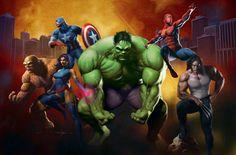 ¿Cómo serían las redes sociales de los súper héroes?