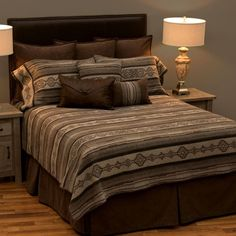 Attirant The Lodge Lux Southwestern DELUXE Bed Ensemble Set Is A Wonderful Choice  For The Southwest Style