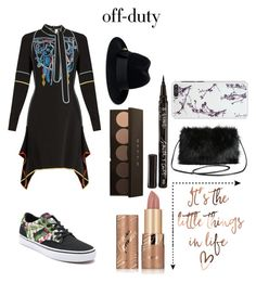 """""""Off Duty Chic"""" by sanestyle ❤ liked on Polyvore featuring Peter Pilotto, Vans, tarte, Gucci, Smith & Cult and Torrid"""