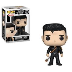 The new Johnny Cash Pop! Vinyl Figures are here from New York Toy Fair This Johnny Cash in Black figure measures about 3 tall and comes packaged in a window display box. Iggy Pop, Man In Black, Black Men, Drag Queens, Pop Rocks, Action Toys, Action Figures, Toy Story, Johnny Cash Vinyl