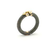 Fabrice Schaefer-design bijou-Diamants-Titane-Galerie Annick Zuffere