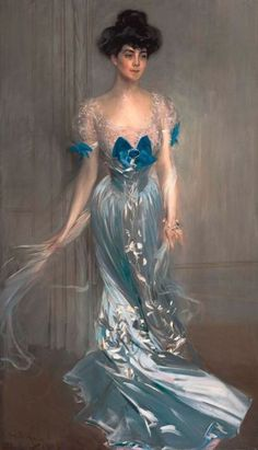Portrait of Mrs. Graham Fair Vanderbilt (née Virginia Graham Fair) Giovanni Boldini - 1905