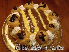 Torta Saint Honore ricetta sul blog giallozafferano