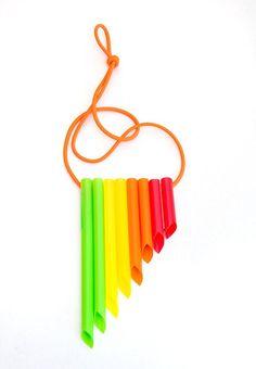 DIY Musical Instruments for Kids: Singing Straws
