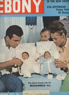 Jan 1971 Ebony Magazine with Muhammed Ali Front Cover | eBay