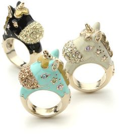 Unicorn ring / ShopStyle: Anna Sui ユニコーンモチーフリング - shopstyle.co.jp