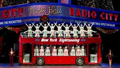 Legendary precision dance company starring in the Radio City Christmas Spectacular and the Rockettes New York Spectacular. New York Christmas, Christmas Events, A Christmas Story, Christmas Wishes, Christmas Shopping, Off Broadway Shows, Nyc Holidays, Happy Holidays, Glittering Lights
