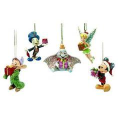 Jim Shore Disney Ornament Set