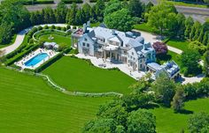 The late shoe designer Vince Camuto's Water Mill, N.Y., estate is hitting the market at $72 million.