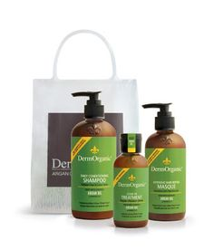 "New Age Mama - ""  After just a few shampoos, I really saw a difference. Its like my hair has new life. "" Dermorganic Sulfate-free Shampoo"