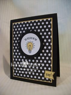 A Work of Heart, 2015 Stampin' Up! SAB set-- You Brighten My Day