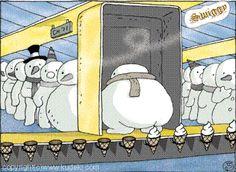 así se hacen los helados!