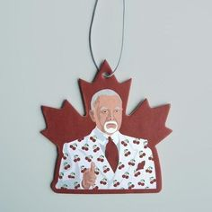 Don's Cherries Air Freshener | Etsy Don Cherry, New Car Smell, Plant Lighting, Car Air Freshener, Funny Gifts, Hockey, Christmas Ornaments, Holiday Decor, Cherries
