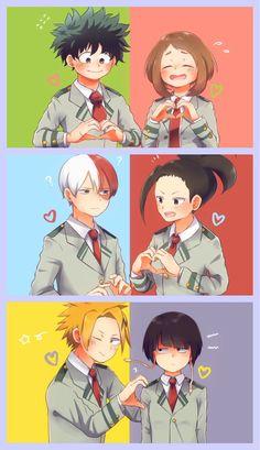 My Hero Academia Class 1-A Ships