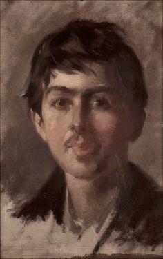 Giuseppe Pellizza da Volpedo · Autoritratto giovanile · 1888 · Ubicazione ignota