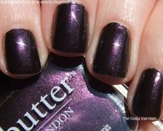 "Butter London - Branwen's feather  All Butter London nail-polishes are vegan, not tested on animals and ""3-free"" - no formaldehyde, no toluene, no DBP (dibutyl phthalate)"