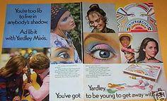 Yardley of London Mixis eyeshadow advertisement
