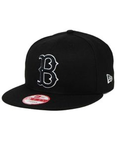 8b62c506126 New Era Brooklyn Dodgers B-Dub 9FIFTY Snapback Cap - Black Adjustable  Brooklyn Dodgers Hat