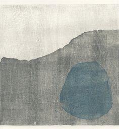 'Surge' Woodblock print by Isobel Adams