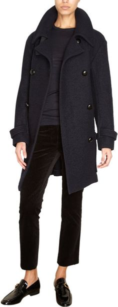 Étoile Isabel Marant Clover Peacoat at Barneys.com