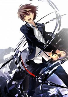 GUILTY CROWN Series Ouma Shu Character