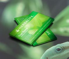 Herbalife Business Cards Idea