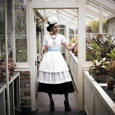 Frida in the Greenhouse