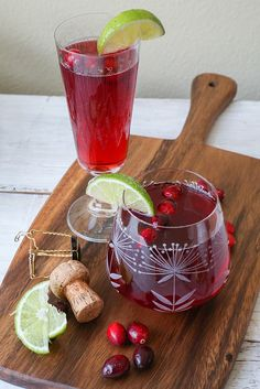 Sparkling Cranberry Cocktail recipe