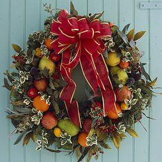 Hang a Homemade Christmas Wreath