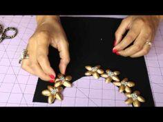 DIY Collar de Pistachos. - YouTube