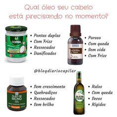 Qual oleo seu cabelo está precisando no momento? Saiba diferenciar! . _________________________ 🌸 Parceiras: . @thejenidicas . @anne_henezada . @papodecabelo_ . @cuidando_do_hair . @dicas_da_stheer . @blog_da_joselma . @ProjetoRapunzell__ . @yasmimcanteriblog . @cindy_costa98 . @baratoruivo __________________________