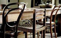 Risultati immagini per dining midcentury mismatched