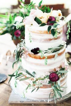 The Most Popular Elegant Wedding Cakes See more: #weddings
