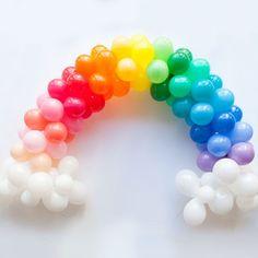 Mini Rainbow Balloon