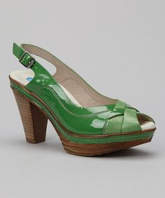 Take a look at this Softwaves Green Haity Sandal on zulily today!