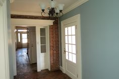 Another view of this widened hallway on the first floor #WashPA #BrownleeHouse