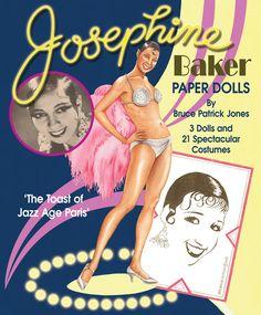 Josephine Baker Paper Dolls