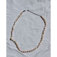 Handmade necklace with freshwater pearls. Approx. 52cm long and weighs only 26 grams.