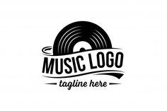 Plantilla de logotipo de disco de vinilo Vector Premium   Premium Vector #Freepik #vector #logo #vintage #musica #abstracto Logos, Logo Branding, Logo Inspiration, Dance Music, Sound Logo, Jazz Poster, Free To Use Images, Music Logo, Roman