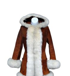 1970's Coat - literally every girl in my school had one of these! Trouble with them though, the fur would get all matted up and yucky with wear if you didn't brush it out.: