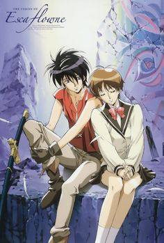 One of my favorite anime series of all time! The Vision of Escaflowne.