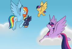 'Kilala97Contest1: (Learning how to fly)' by Mutant-Girl013 on deviantART