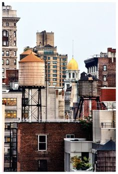 Water Tanks Up On The Roof In 2019